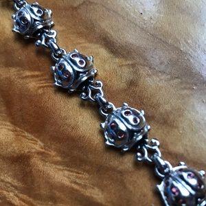 Jewelry - Ladybug 🐞 925 sterling silver bracelet